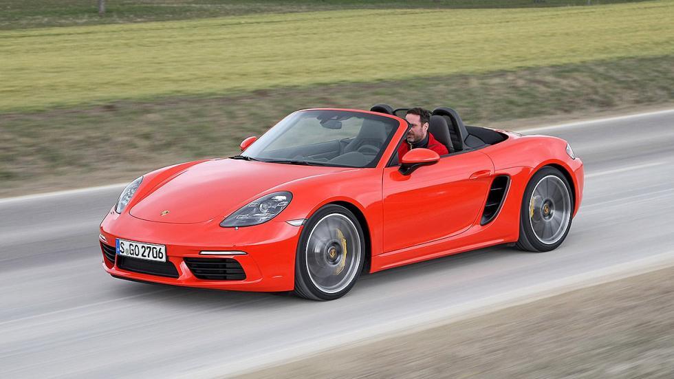 Prueba: Porsche 718 Boxster