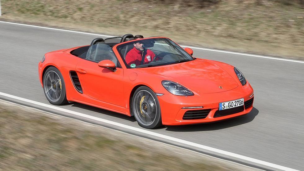 Prueba: Porsche 718 Boxster carretera