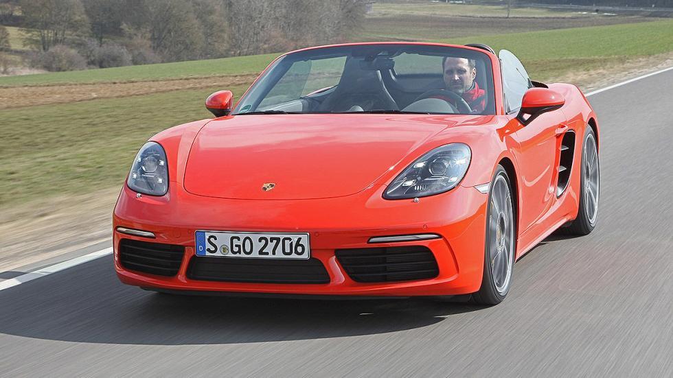 Prueba: Porsche 718 Boxster carretera morro