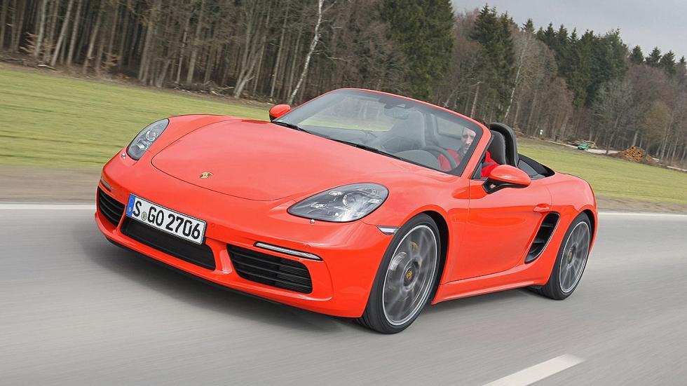 Prueba: Porsche 718 Boxster capó faros