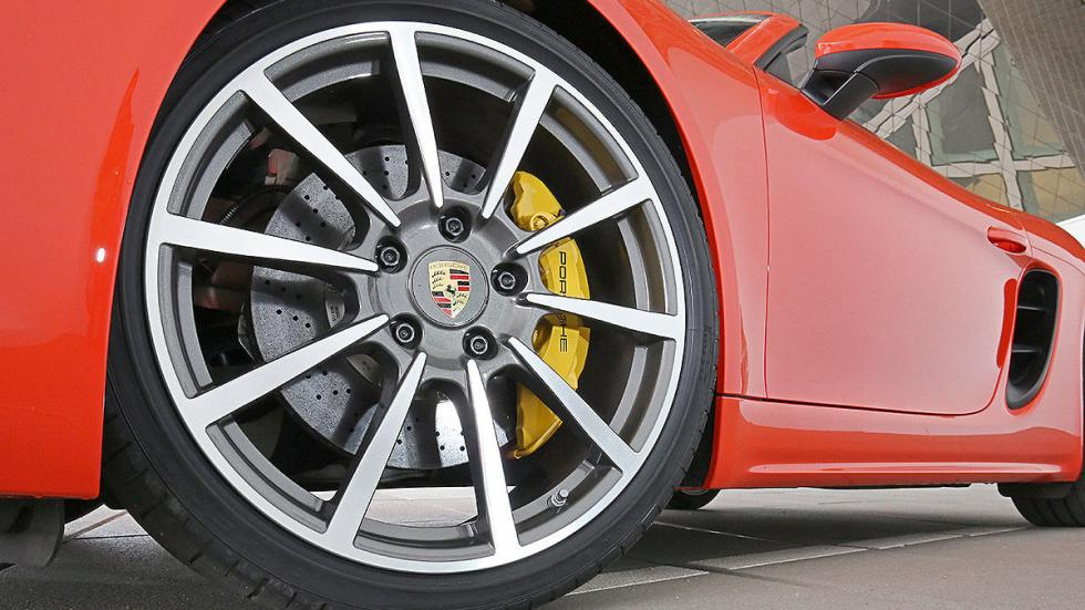 Prueba: Porsche 718 Boxster llanta