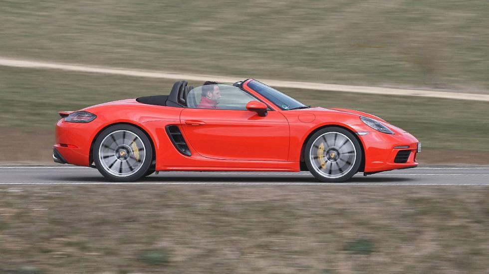 Prueba: Porsche 718 Boxster barrido