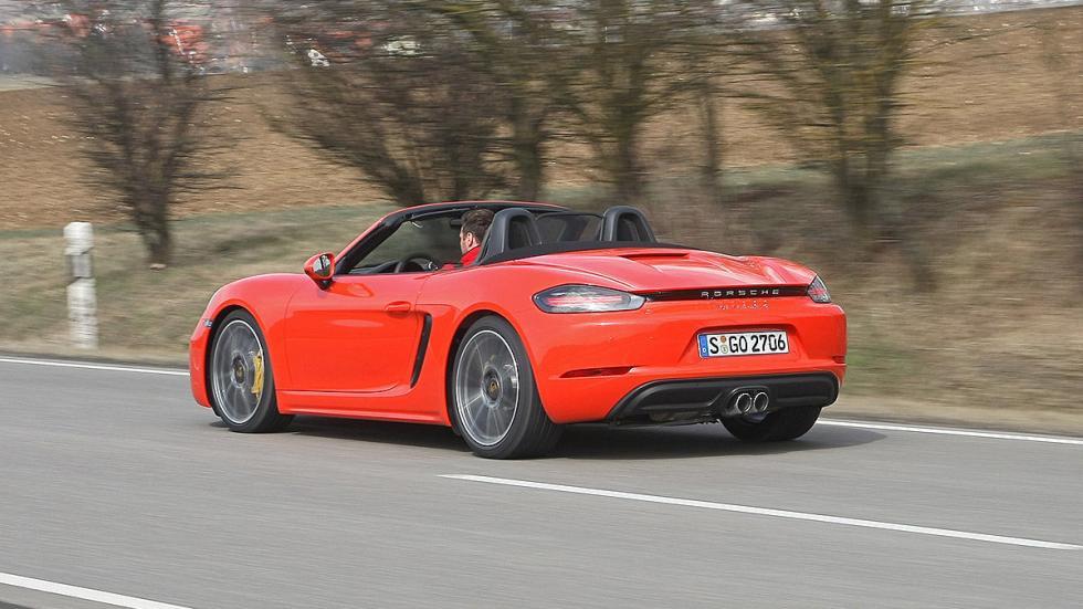 Prueba: Porsche 718 Boxster barrido trasera