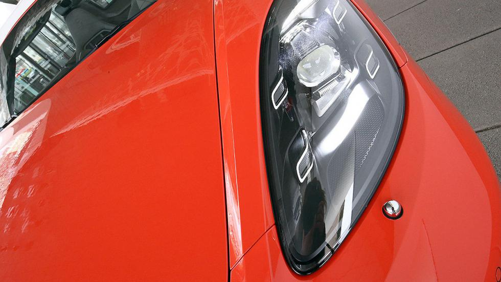 Prueba: Porsche 718 Boxster morro faro
