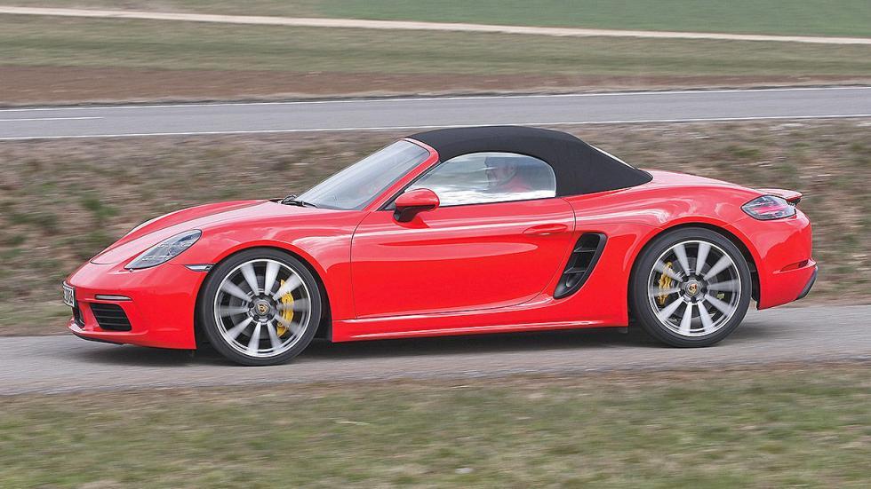 Prueba: Porsche 718 Boxster barrido capota