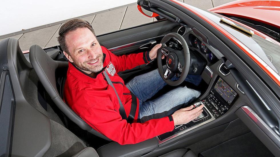 Prueba: Porsche 718 Boxster interior cenital
