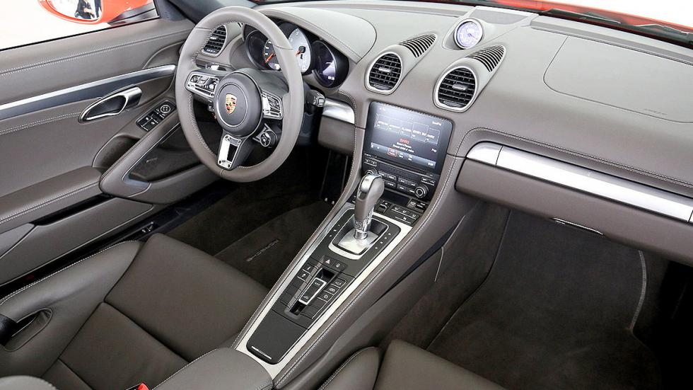 Prueba: Porsche 718 Boxster consola