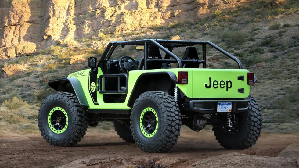 Jeep Trailcat trasera