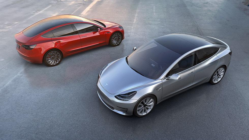 Tesla Model 3 colores