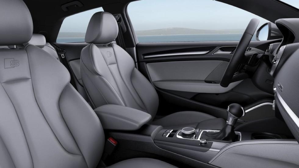 Audi A3 2016 asientos delanteros