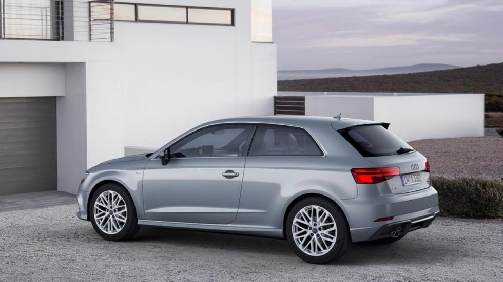 Audi A3 2016 tres cuartos traseros