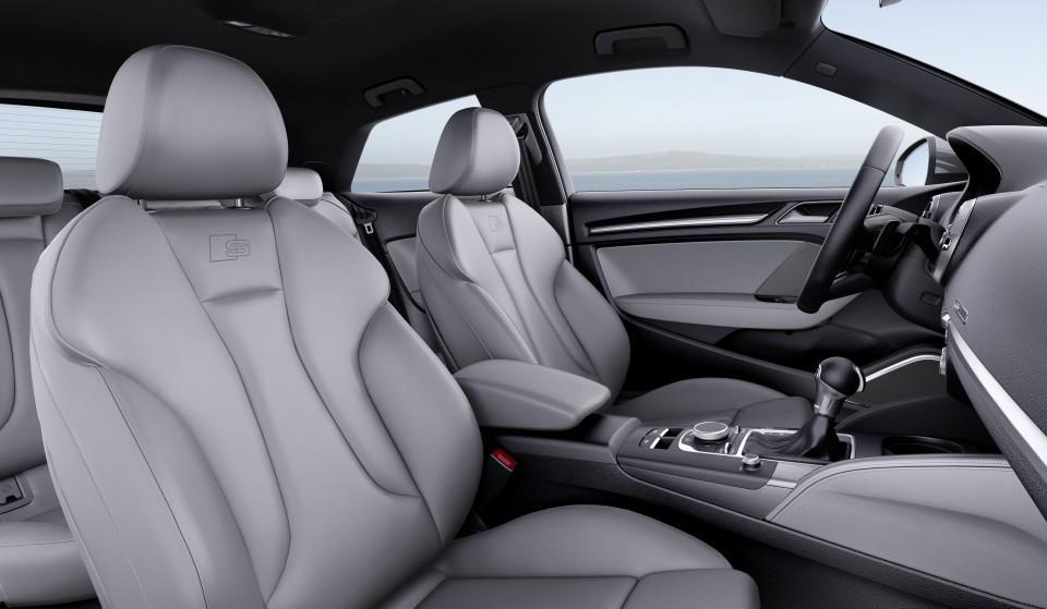 Nuevo Audi A3 2016 asientos delanteros