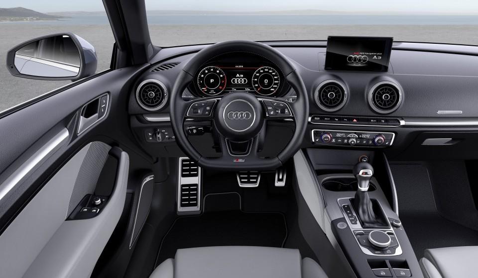 Nuevo Audi A3 2016 cuadro de mandos