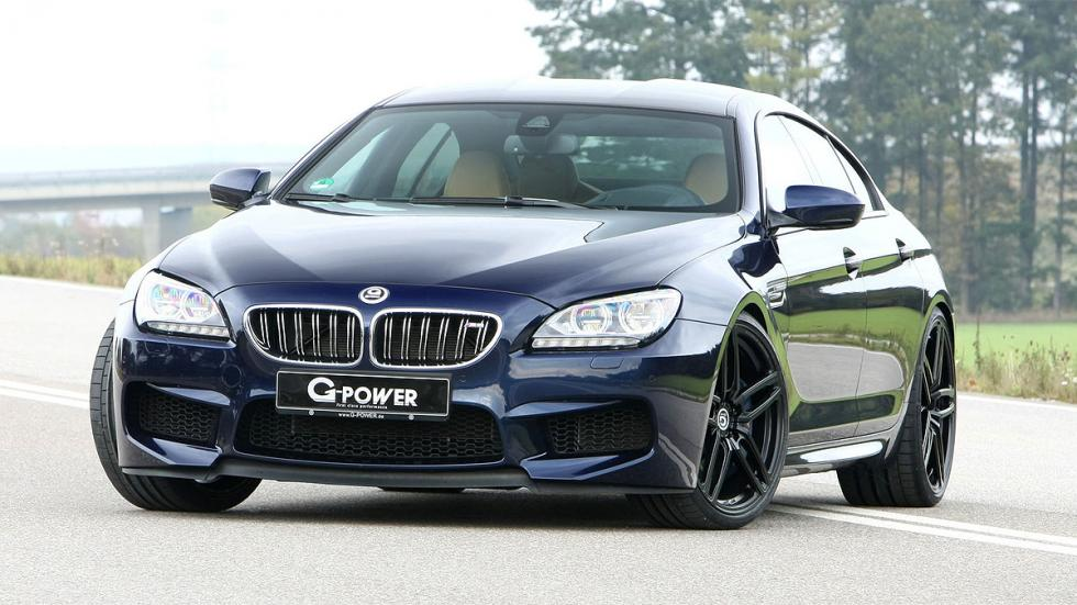 Frontal del BMW M6 Gran Coupé G-Power