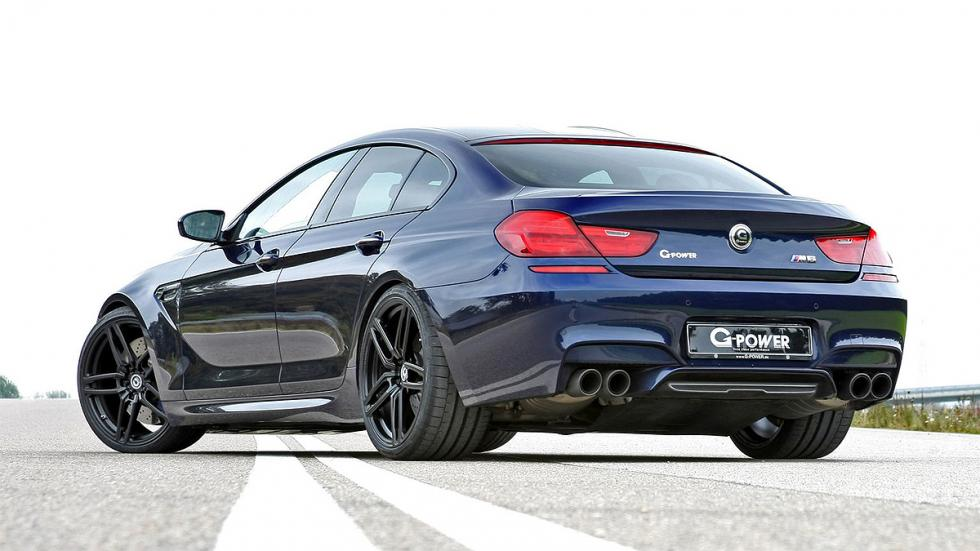 Diseño de la zaga del BMW M6 Gran Coupé G-Power