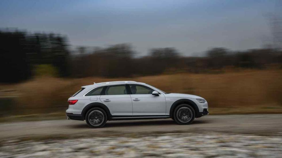 Audi A4 allroad 2016 barrido