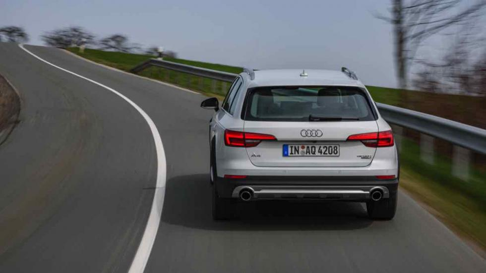 Audi A4 allroad 2016 asfalto