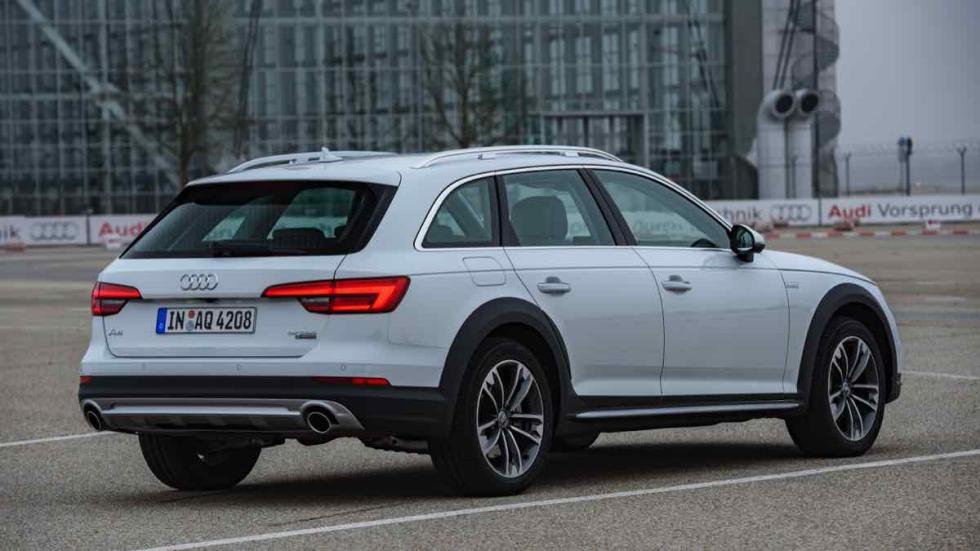 Audi A4 allroad 2016 carretera