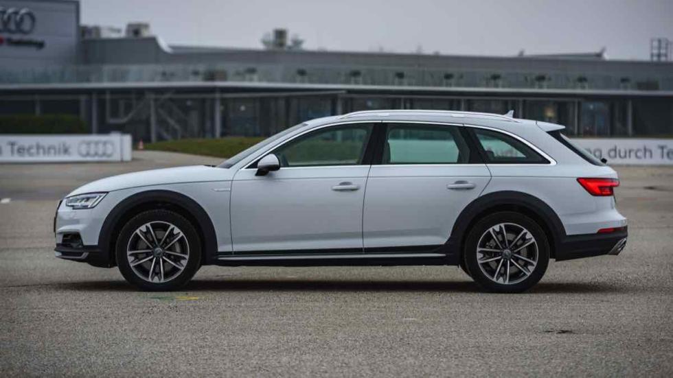 Audi A4 allroad 2016 silueta