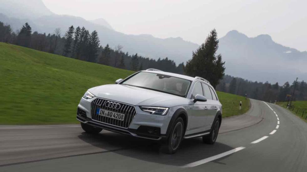 Audi A4 allroad 2016 carretera asfaltada