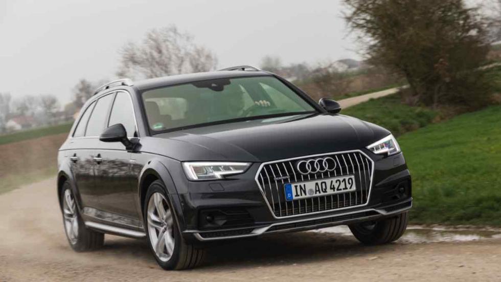 Audi A4 allroad 2016 cuerva tierra
