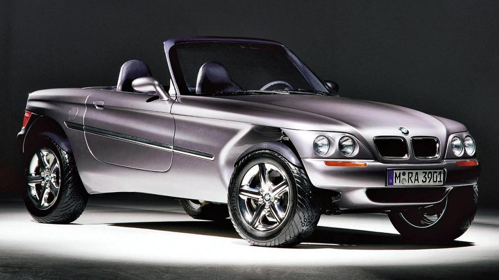 Diseño frontal BMW Z18 Concept