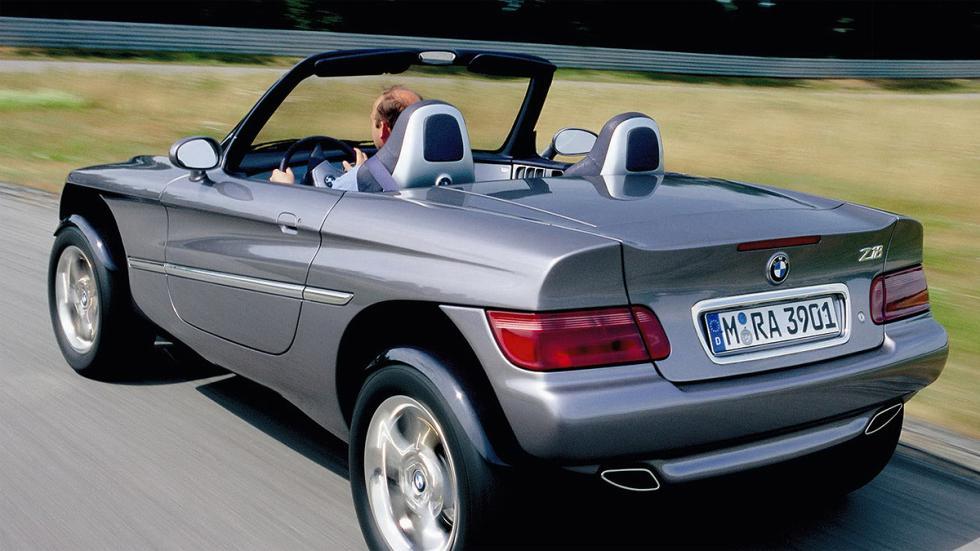 Diseño zaga BMW Z18 Concept