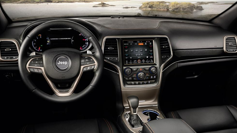 Jeep Grand Cherokee 75º Aniversario interior