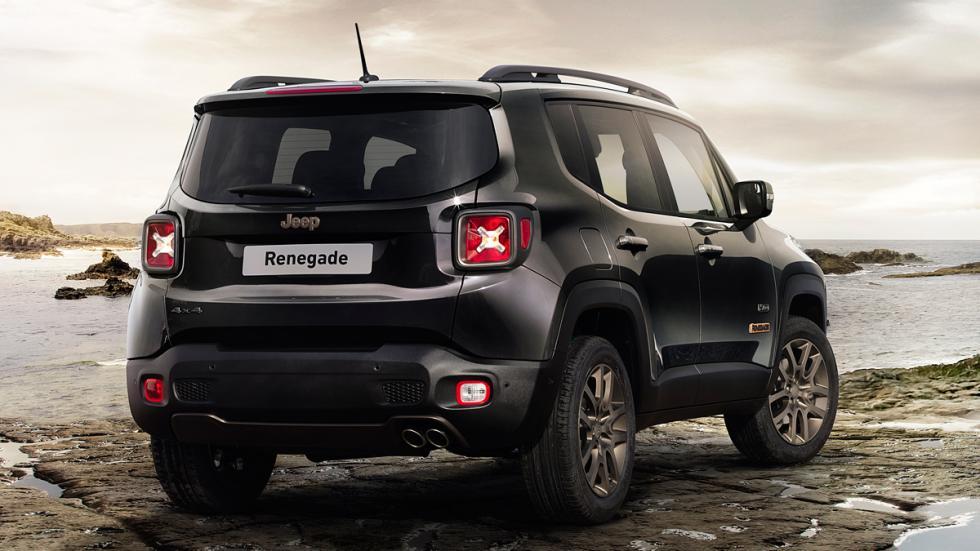 Jeep Renegade 75 Aniversario trasera