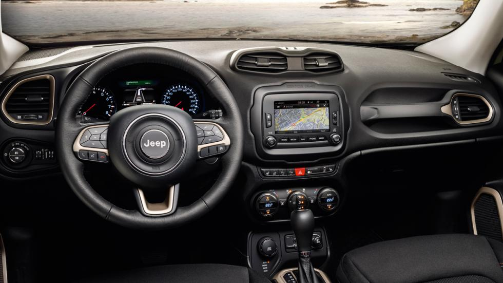 Jeep Renegade 75 Aniversario interior
