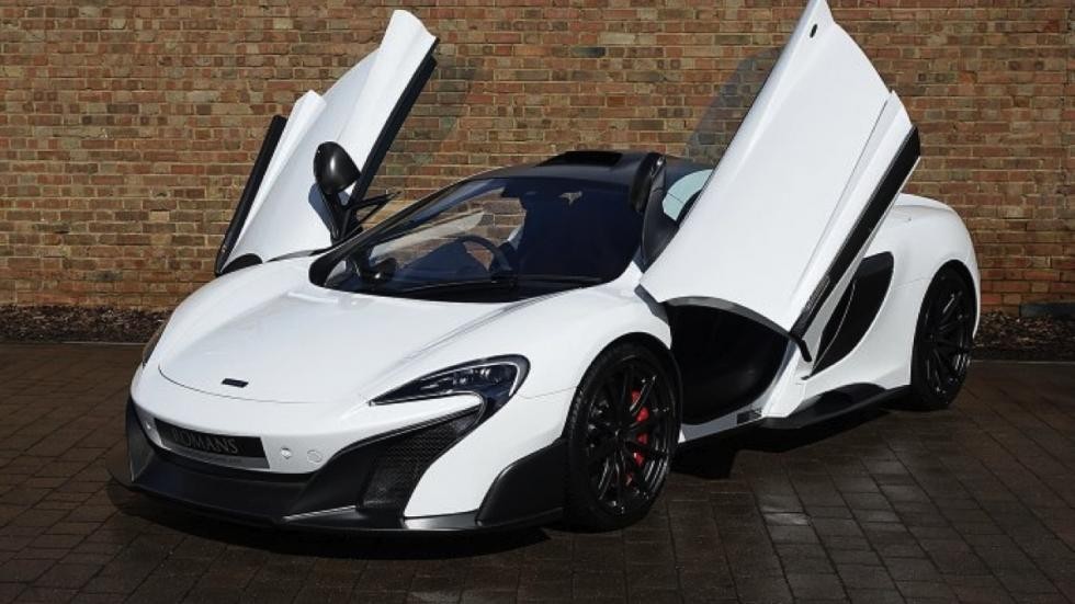 McLaren 675LT White Silica