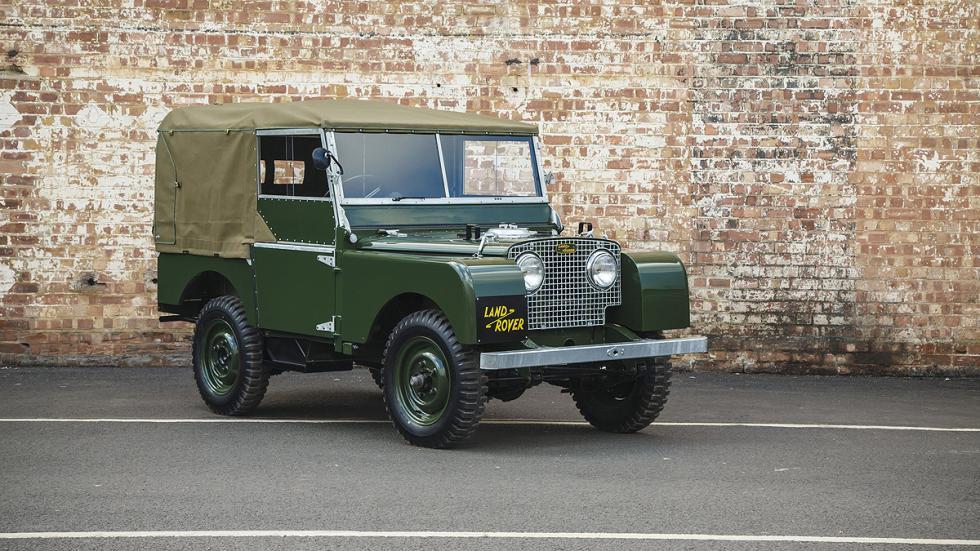 25 modelos Serie I de Land Rover