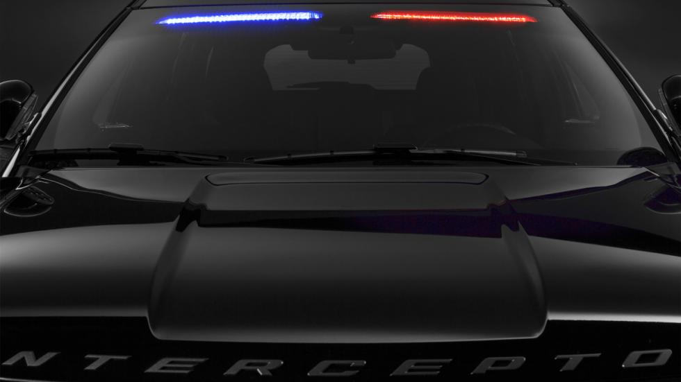 Ford Police Interceptor 2016 luces exterior