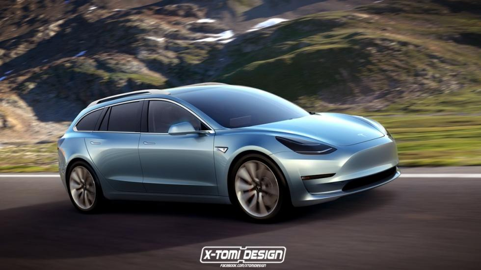 Tesla Model 3 sportwagon