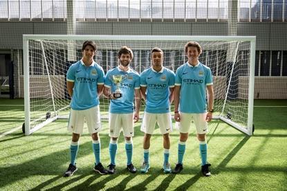 Jugadores del Manchester City