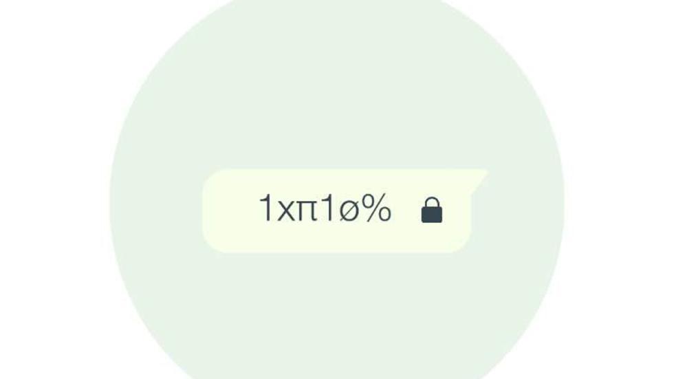 mensaje cifrado whatsapp