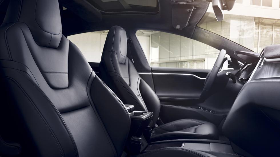 Tesla Model S 2016 interior