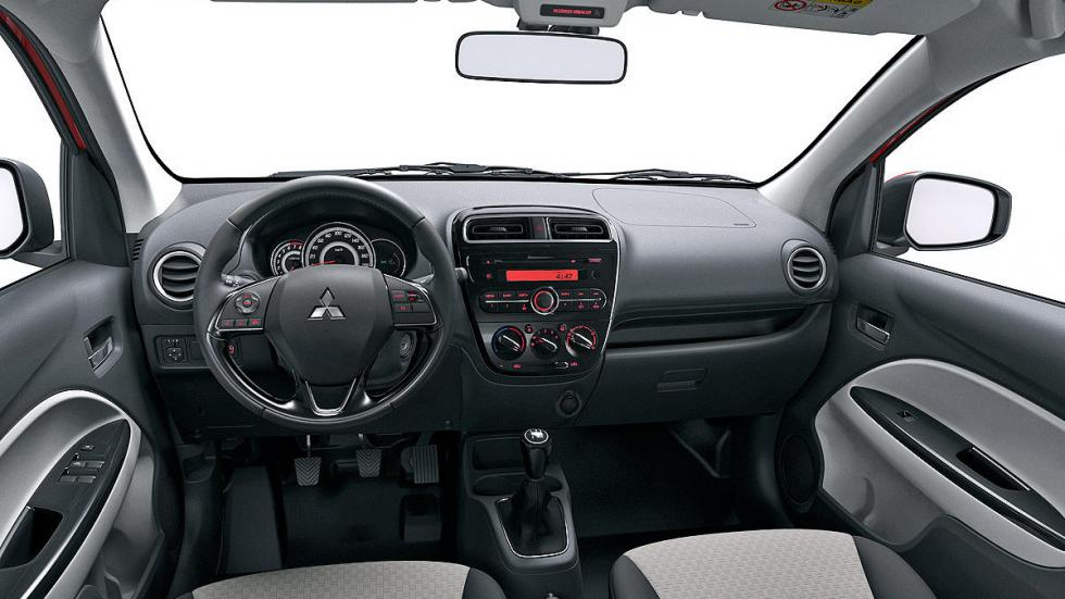 Prueba: Mitsubishi Space Star FL 2016 INTERIOR