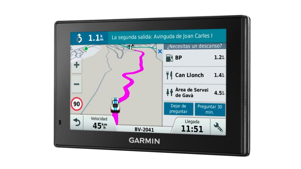 Garmin DriveSmart sitios de descanso.