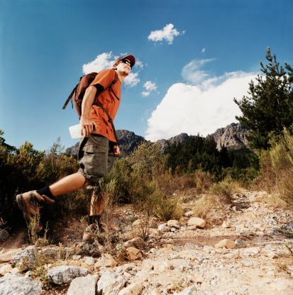 Trekking.