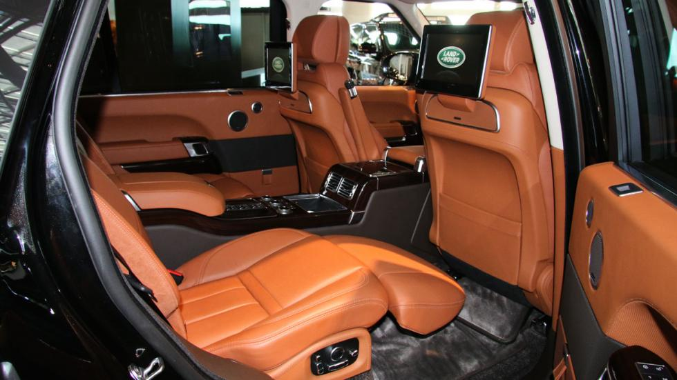 Top Marques 2016 range rover ewb interior
