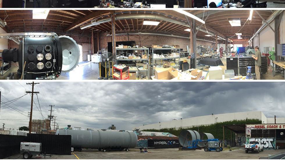 proceso construcción hyperloop