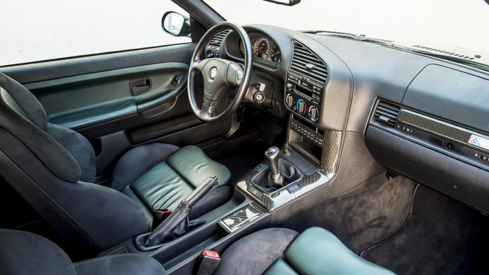 BMW M3 E36 GT habitáculo