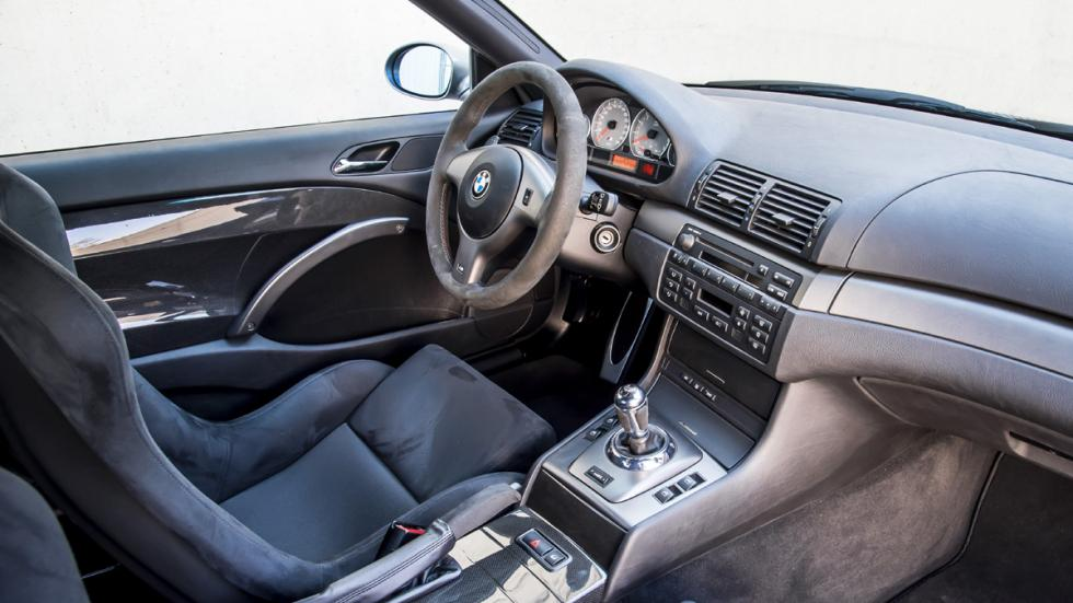 BMW M3 E46 CSL interior