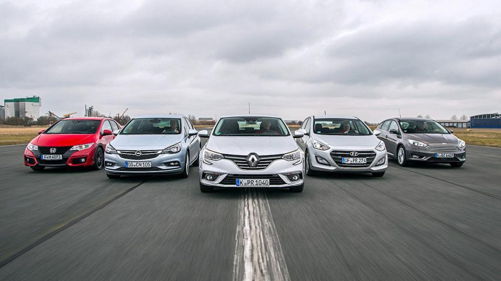 10 Nuevo Renault Mégane contra todos