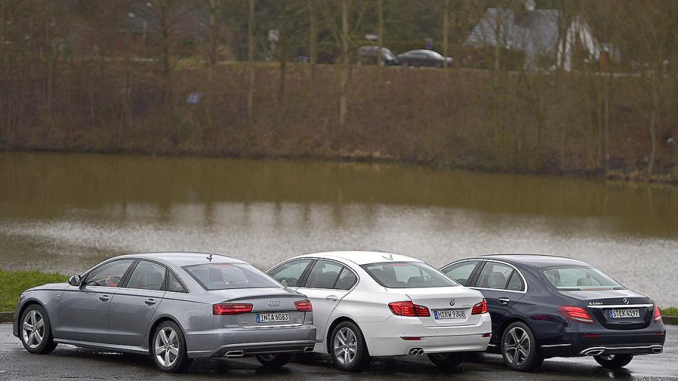 10Comparativa: Mercedes Clase E / Audi A6 / BMW Serie 5