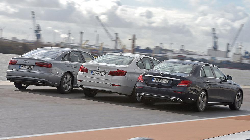 11Comparativa: Mercedes Clase E / Audi A6 / BMW Serie 5