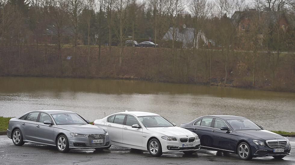 12Comparativa: Mercedes Clase E / Audi A6 / BMW Serie 5
