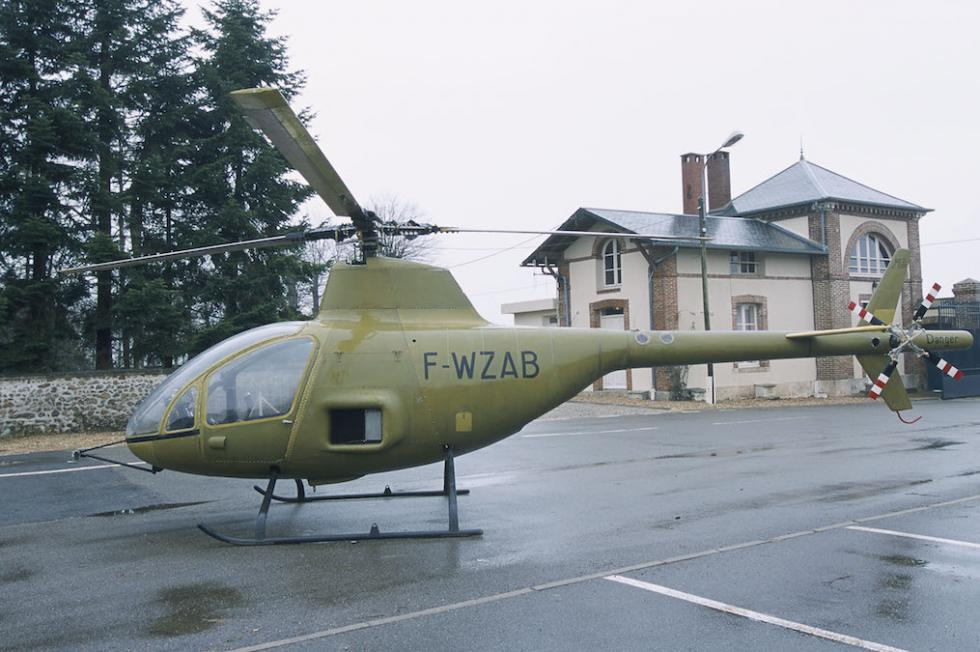 helicóptero de Citroën