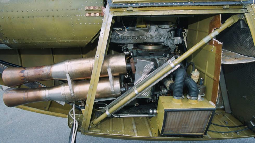 motor helicóptero de Citroën
